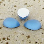 Light Sapphire Matte - 18x13mm. Pear Cabochons - Lots of 144