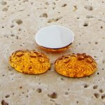 Madeira Topaz Baroque - 18x13mm. Oval Cabochons - Lots of 144