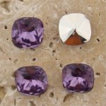 Lt Amethyst Jewel -12x12mm Square Cush Faceted Jewel -Lot of 134