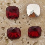 Ruby Jewel - 12x12mm Square Cushion Faceted Jewels - Lots of 144