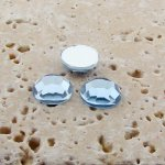 Light Sapphire Jewel Faceted - 6mm Round Cabochons - Lots of 144