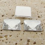 Crystal Jewel Faceted - 20mm. Square Cabochons - Lots of 144