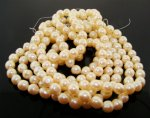 CULTURA 8MM BAROQUE ROUND JAPANESE PEARLS - Lot of 91