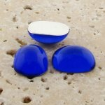 Sapphire Jewel - 15x11.5mm. Rectangle Cabochons - Lots of 144