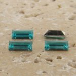 Lt Sapphire Jewel -7x3mm Rectangle Baguette Gem Jewel-Lot of 144