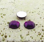 Amethyst Jewel Faceted - 7mm. Round Cabochons - Lots of 144