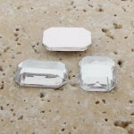 Crystal Jewel Faceted - 40x30mm. Octagon Cabochons - Lots of 12
