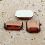 Topaz Jewel Faceted - 18x13mm. Octagon Cabochons - Lots of 144