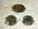 Crystal Jewel Table Faceted - 20mm Round Cabochons - Lots of 72