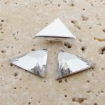 Crystal Faceted - 18x18mm. Triangle Cabochons - Lots of 144