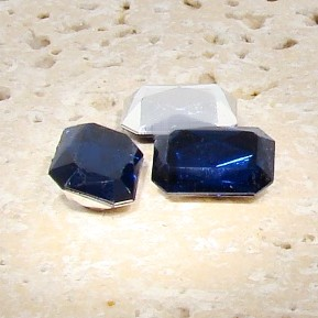 Montana Sapphire - 14x10mm Octagon Faceted Gems - Lots of 144