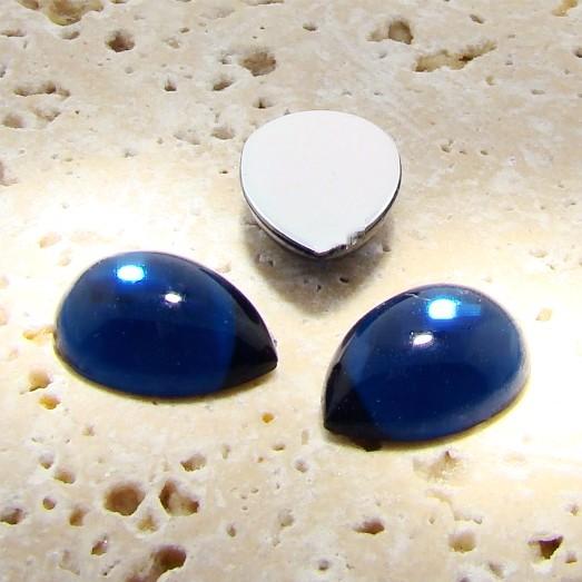 Montana Sapphire Jewel - 25x18mm. Pear Cabochons - Lots of 72