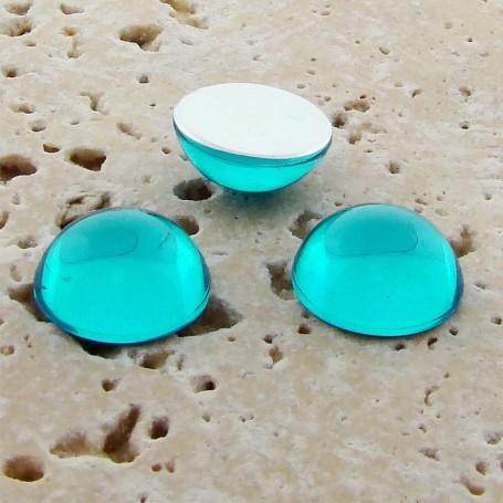 Aqua Jewel - 25mm. Round Domed Cabochons - Lots of 72