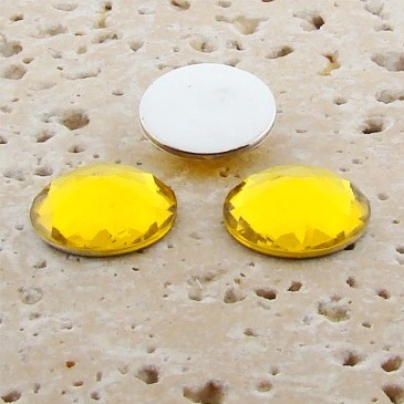 Jonquil Jewel Multi Faceted - 11mm Round Cabochons - Lots of 144