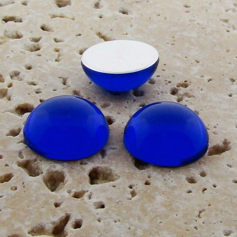 Sapphire Jewel - 5mm. Round Domed Cabochons - Lots of 144