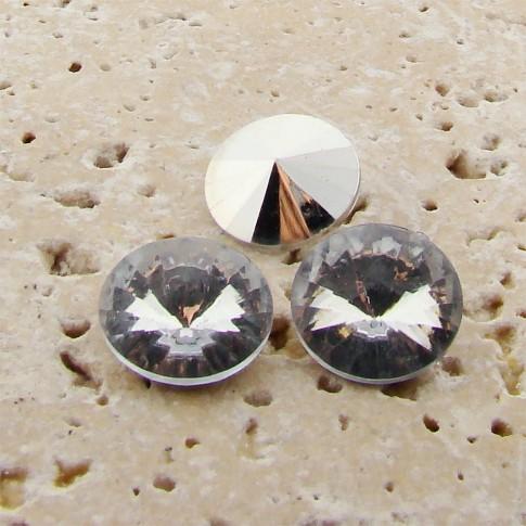 Crystal - 8mm Round Rivoli Rhinestone Jewels - Lots of 144