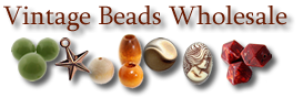 Plastic Beads Wholesale - Vintage Beads, Cabochons & Jewelry Making Supplies [home link]